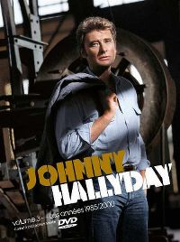 Cover Johnny Hallyday - Volume 3 - Les années 1985/2000 [DVD]